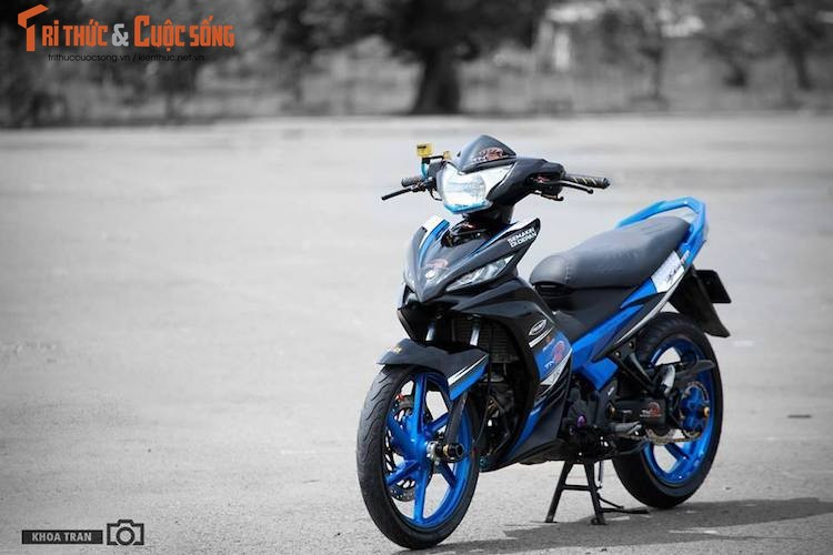 "Yamaha Exciter 135 bien tu quy 9 ""dai chat"" tai Tra Vinh"