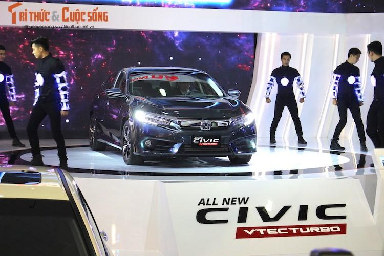 Kham pha gian hang oto Honda Viet Nam tai VMS 2016-Hinh-2