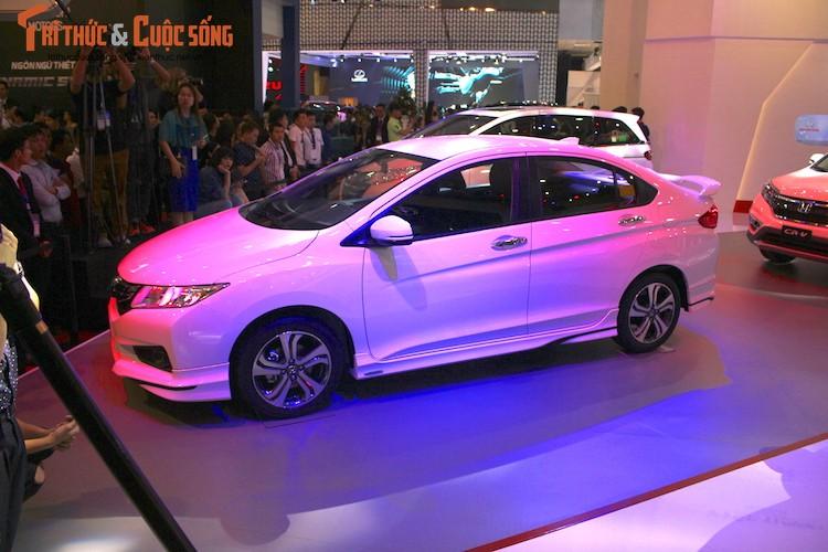 Kham pha gian hang oto Honda Viet Nam tai VMS 2016-Hinh-4