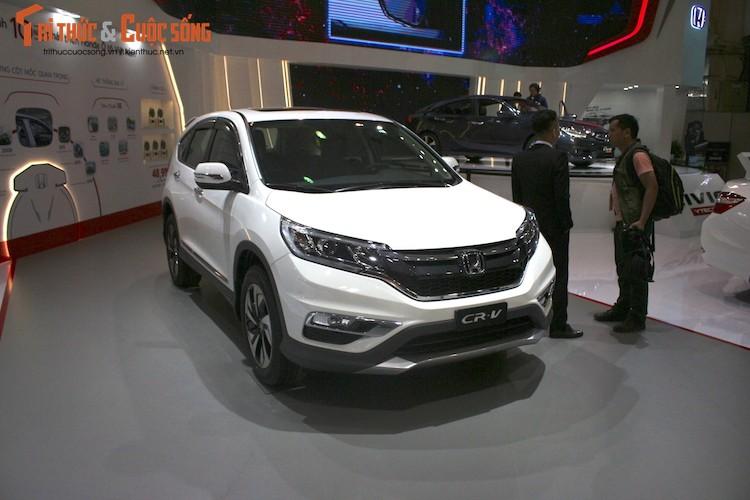 Kham pha gian hang oto Honda Viet Nam tai VMS 2016-Hinh-5