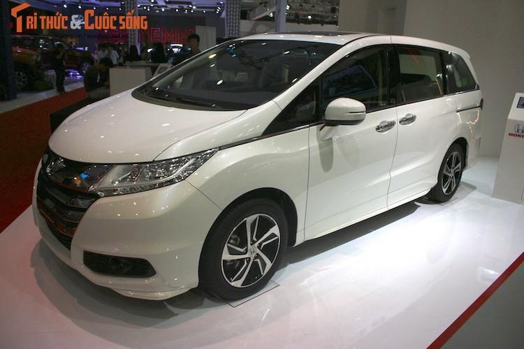 Kham pha gian hang oto Honda Viet Nam tai VMS 2016-Hinh-7