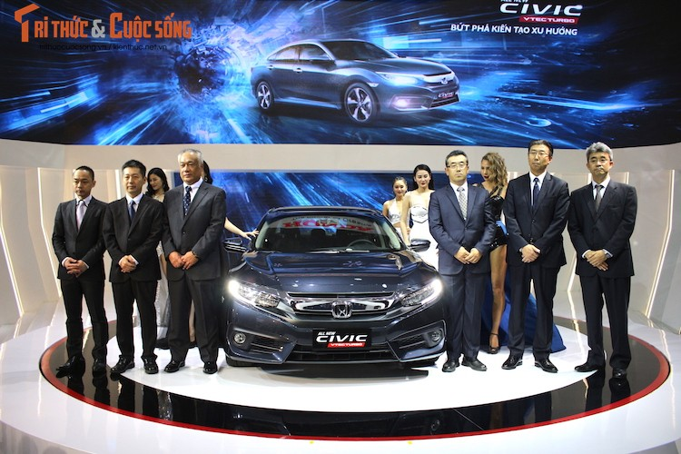 Kham pha gian hang oto Honda Viet Nam tai VMS 2016-Hinh-8