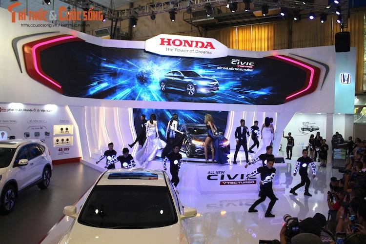 Kham pha gian hang oto Honda Viet Nam tai VMS 2016