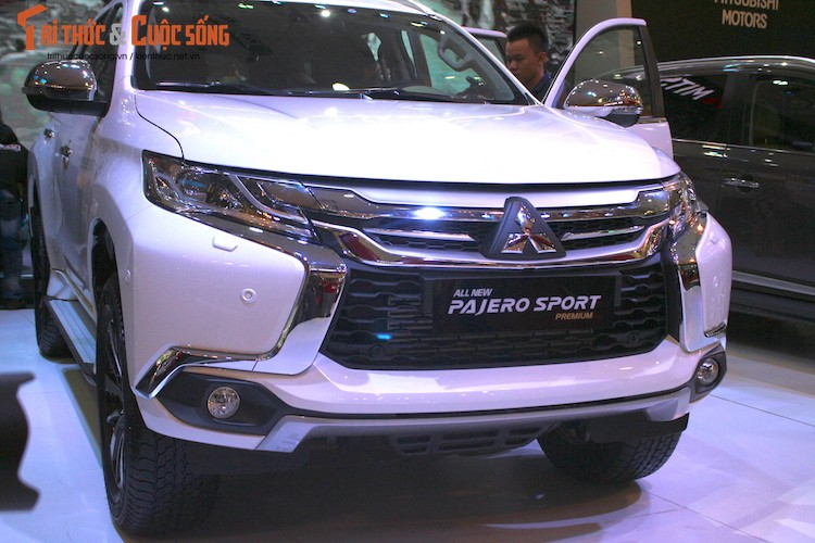 Mitsubishi Pajero Sport moi co gia tu 1,4 ty tai VN?-Hinh-2