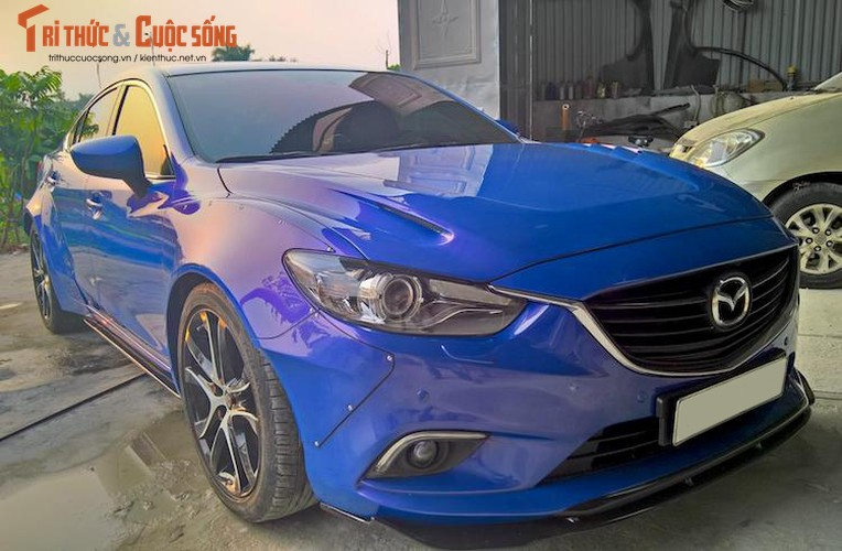 "Sedan Mazda 6 do widebody ""doc nhat"" Viet Nam-Hinh-2"