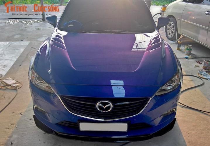 "Sedan Mazda 6 do widebody ""doc nhat"" Viet Nam-Hinh-3"