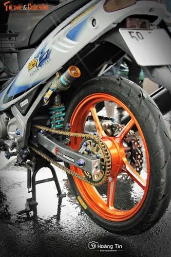 """""""Xe no"""" 2 ky Yamaha Z125 do 200 trieu tai Sai Gon-Hinh-6"""