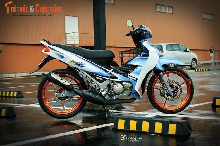 """Xe no"" 2 ky Yamaha Z125 do 200 trieu tai Sai Gon"