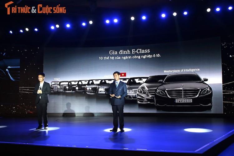 Can canh Mercedes E-Class 2017 gia hon 2 ty tai VN
