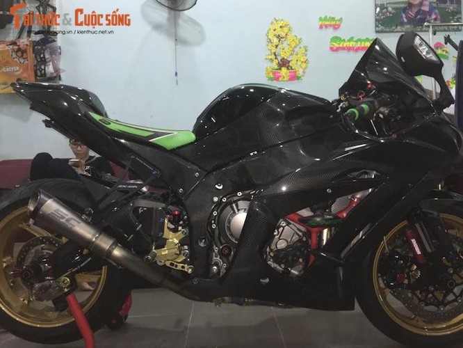 "Sieu moto Kawasaki ZX-10R do carbon ""sieu khung"" tai VN-Hinh-5"