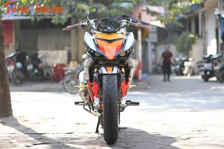 "Yamaha Exciter 150 do ""mong to"" sieu khung o Ha Noi-Hinh-2"