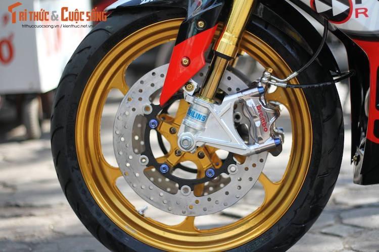 "Yamaha Exciter 150 do ""mong to"" sieu khung o Ha Noi-Hinh-3"