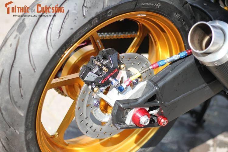 "Yamaha Exciter 150 do ""mong to"" sieu khung o Ha Noi-Hinh-9"