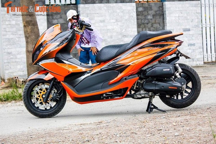"""Honda PCX do Maxi Scooter """"sieu chat choi"""" tai Ha Noi-Hinh-4"""