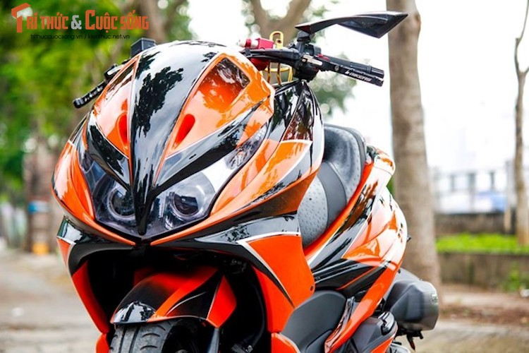 """Honda PCX do Maxi Scooter """"sieu chat choi"""" tai Ha Noi-Hinh-5"""