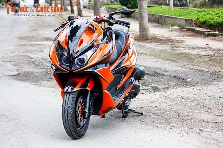 "Honda PCX do Maxi Scooter ""sieu chat choi"" tai Ha Noi"