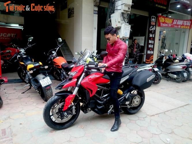 """Dien vien Hong Dang """"cuoi vo hai"""" Ducati gia nua ty-Hinh-10"""