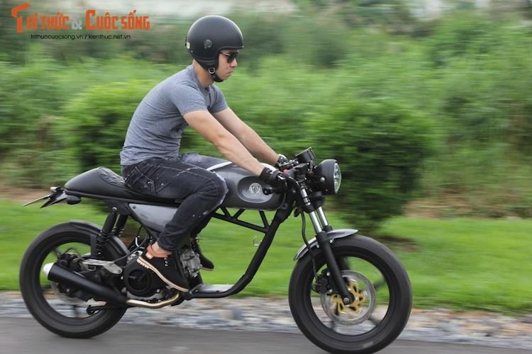 "Yamaha Nouvo ""lot xac"" cafe racer kich doc tai Sai Gon-Hinh-11"
