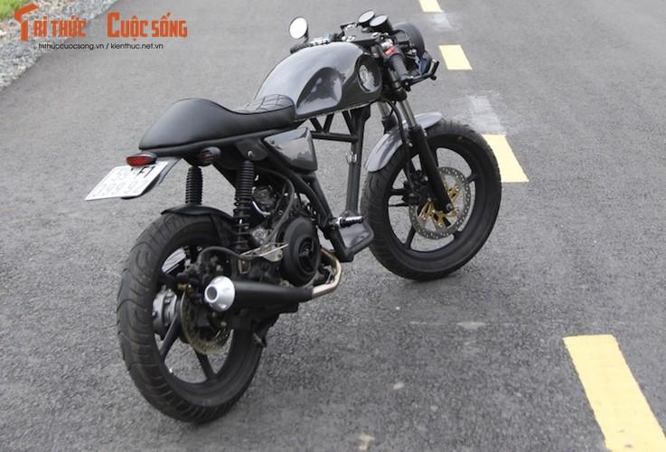 "Yamaha Nouvo ""lot xac"" cafe racer kich doc tai Sai Gon-Hinh-12"