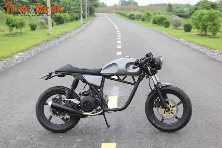 "Yamaha Nouvo ""lot xac"" cafe racer kich doc tai Sai Gon-Hinh-6"