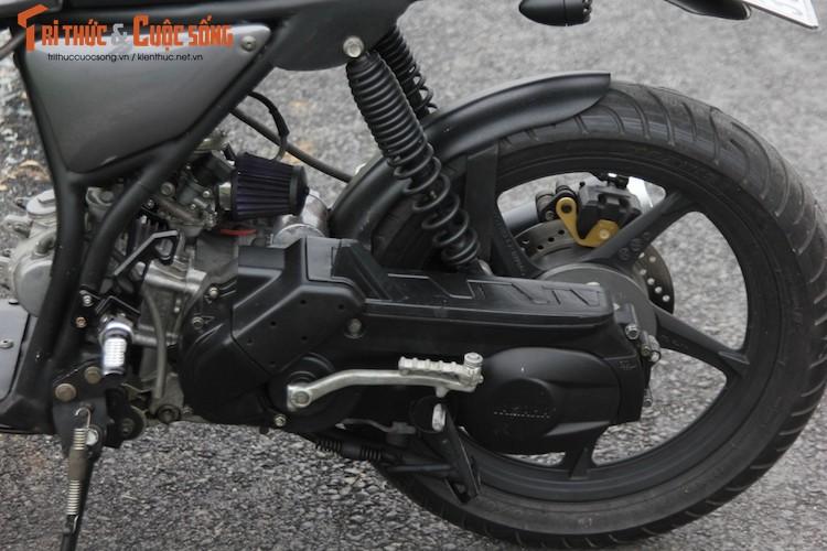 "Yamaha Nouvo ""lot xac"" cafe racer kich doc tai Sai Gon-Hinh-9"