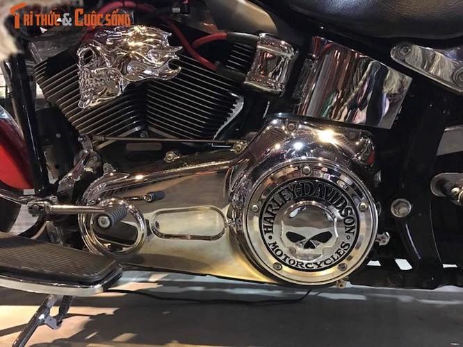 "Harley-Davidson Fatboy do touring ""sieu doc"" tai Ha Noi-Hinh-6"