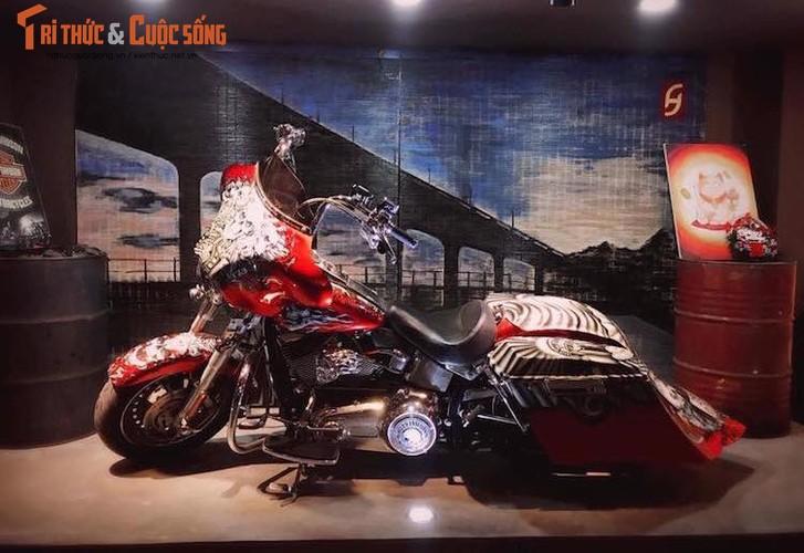 "Harley-Davidson Fatboy do touring ""sieu doc"" tai Ha Noi"