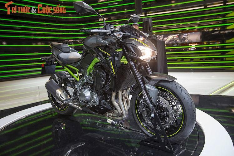Can canh Kawasaki Z900 2017 gia 288 trieu tai Viet Nam
