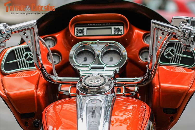 "Harley-Davidson Road Glide ""giat"" CVO tien ty tai Da Nang-Hinh-6"