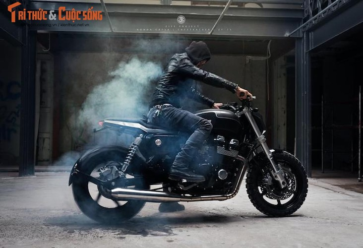 "Honda CB750 ""lot xac"" cafe tracker don Tet tai Ha thanh-Hinh-10"