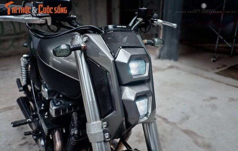 "Honda CB750 ""lot xac"" cafe tracker don Tet tai Ha thanh-Hinh-3"