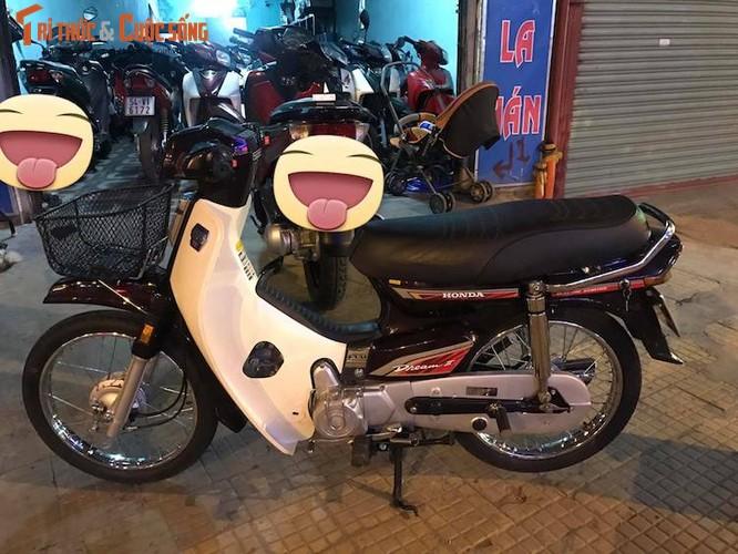 """Honda Dream II Thai """"dap thung"""" khung nhat Viet Nam-Hinh-2"""