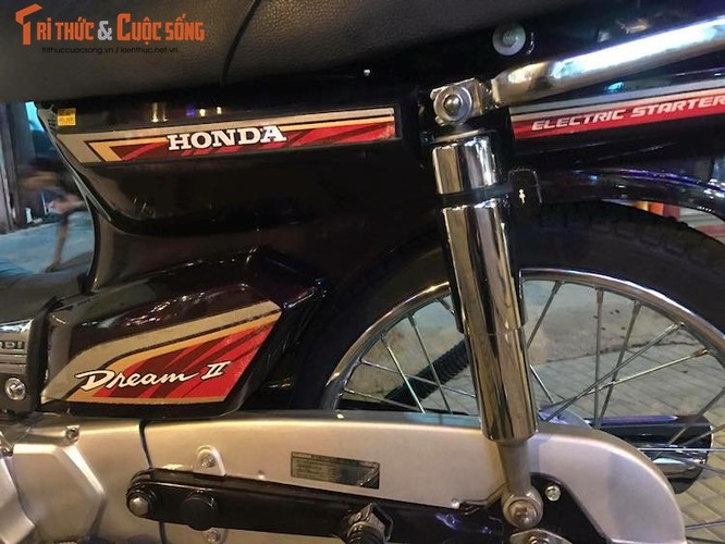 """Honda Dream II Thai """"dap thung"""" khung nhat Viet Nam-Hinh-5"""