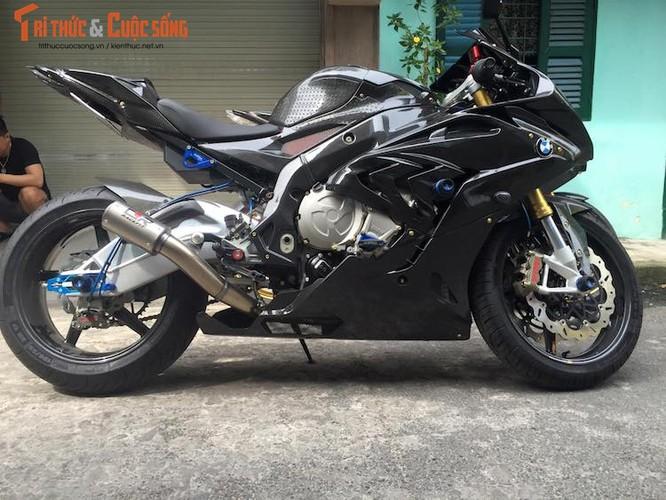 Sieu moto BMW S1000RR do full carbon khung nhat VN-Hinh-7