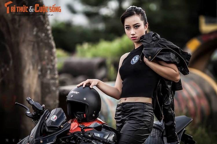"""Nguoi dep Viet """"do dang chuan"""" ben Kawasaki Z1000-Hinh-8"""
