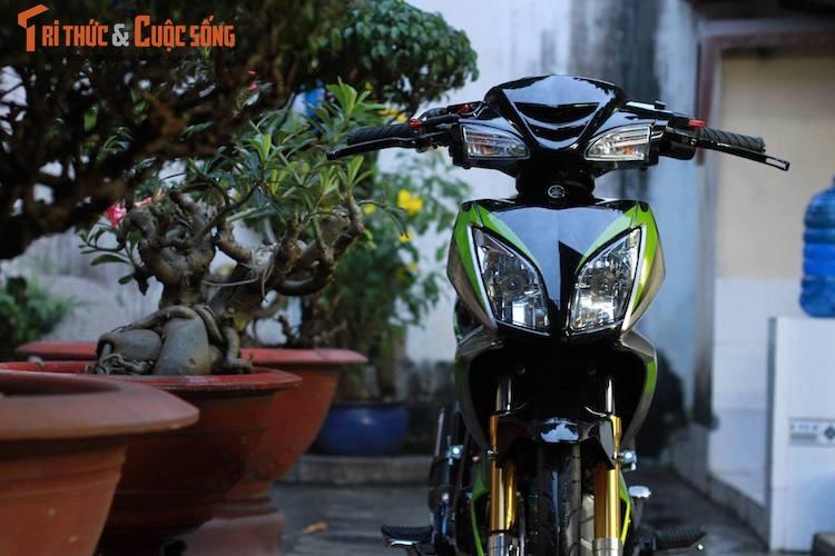 "Yamaha Jupiter do phong cach X1 ""sieu doc"" cua biker Viet-Hinh-2"