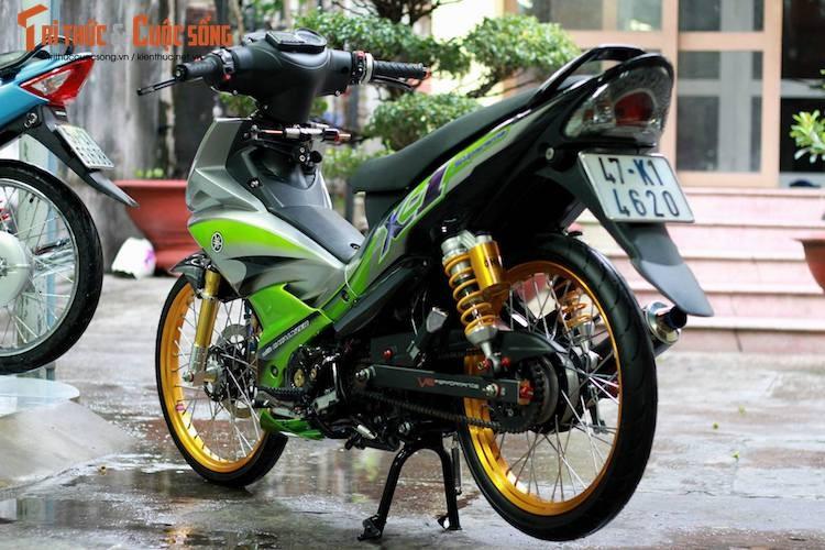 "Yamaha Jupiter do phong cach X1 ""sieu doc"" cua biker Viet-Hinh-6"