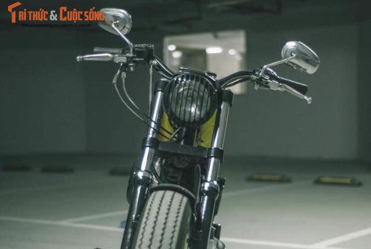 "Dan choi Ha Thanh ""nang doi"" Harley 883 thanh Forty-Eight-Hinh-2"
