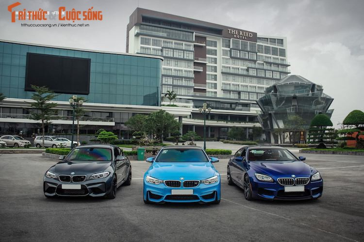 "Dan xe the thao BMW M ""khung"", tien ty tai Ninh Binh"