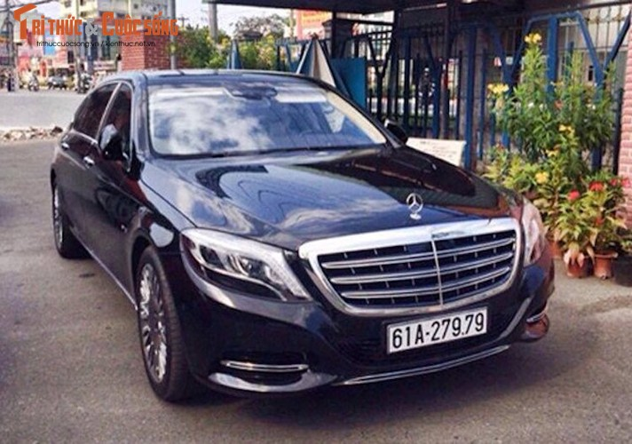 "Loat xe Mercedes-Maybach S600 tien ty ""bien khung"" tai VN"