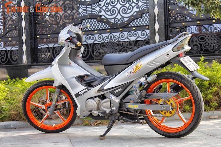 """""""Xe no 2 ky"""" Yamaha Z125 do kieng cuc chat tai An Giang-Hinh-8"""