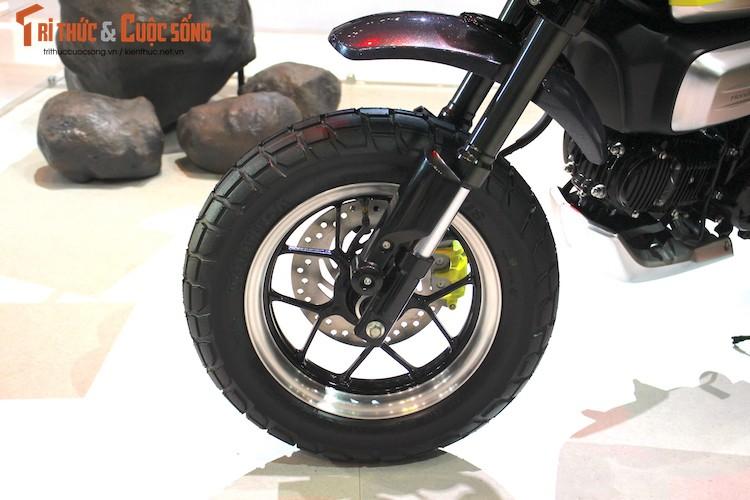 "Can canh ""xe khi"" Honda Monkey 125 dau tien tai Viet Nam-Hinh-4"