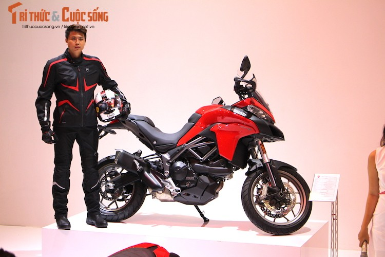 Can canh moto Ducati Multistrada 950 gia 550 trieu tai VN
