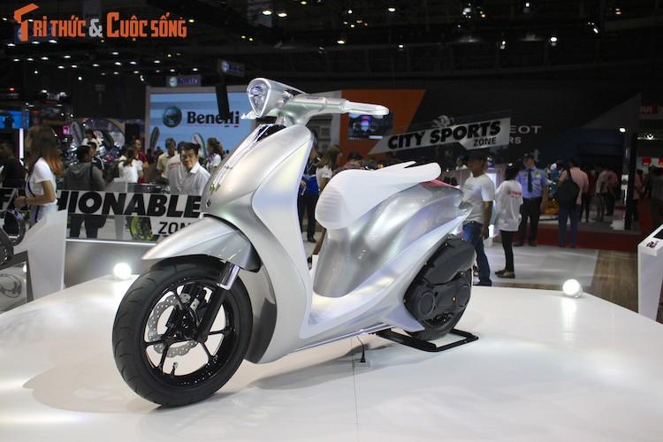 "Ngam ""sieu mau"" tay ga Yamaha Glorious tai Viet Nam-Hinh-2"