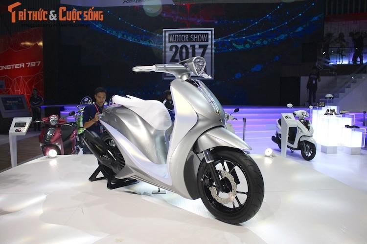 "Ngam ""sieu mau"" tay ga Yamaha Glorious tai Viet Nam"