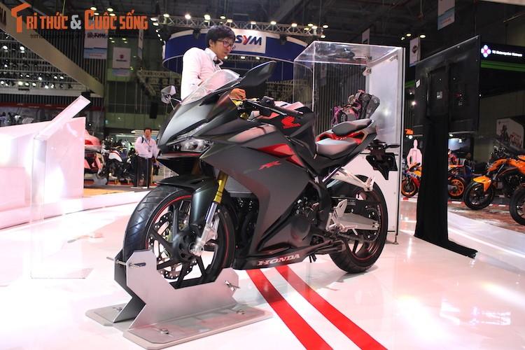 "Chi tiet ""hang nong"" Honda CBR250RR dau tien tai Viet Nam"