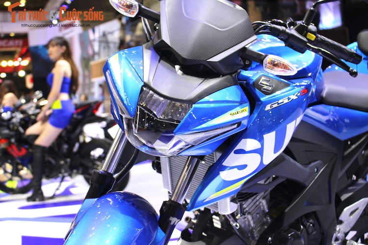 "Naked-bike Suzuki GSX-S150 tai Viet Nam ""chot gia"" the nao?-Hinh-2"