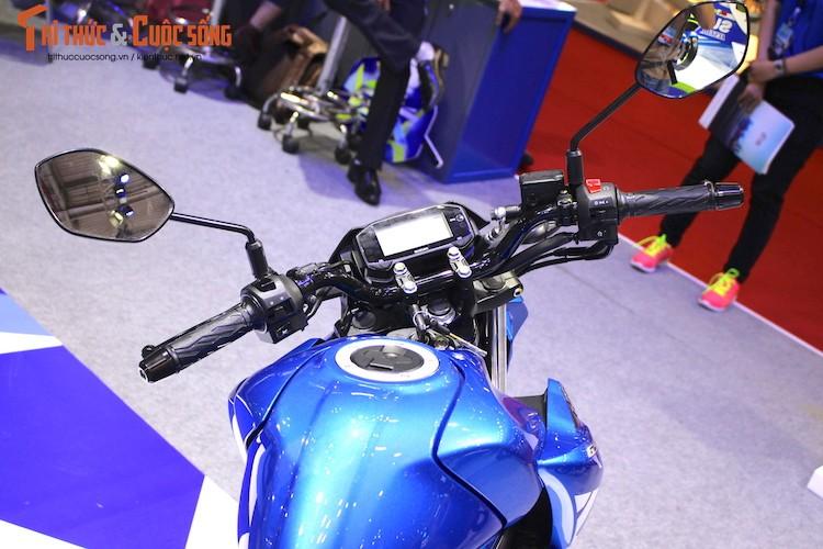 "Naked-bike Suzuki GSX-S150 tai Viet Nam ""chot gia"" the nao?-Hinh-4"