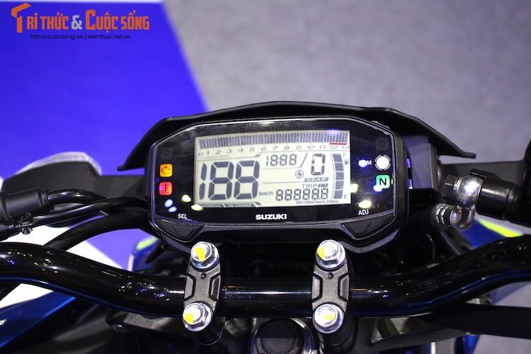 "Naked-bike Suzuki GSX-S150 tai Viet Nam ""chot gia"" the nao?-Hinh-5"