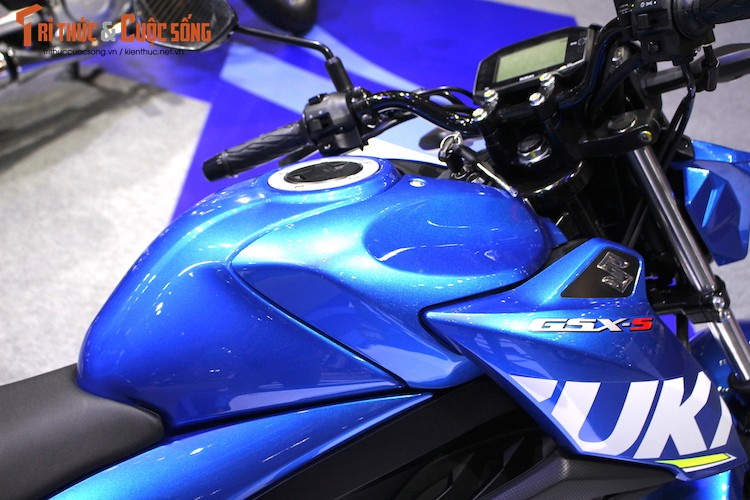 "Naked-bike Suzuki GSX-S150 tai Viet Nam ""chot gia"" the nao?-Hinh-7"